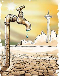 بحران کم آبی در ایران
