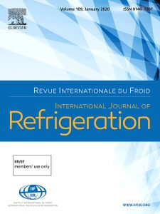 مجله International Journal of Refrigeration