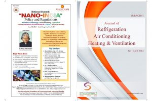 مجله Journal of Refrigeration, Air Conditioning, Heating and Ventilation