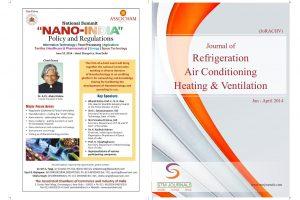 مجله Journal of Refrigeration, Air Conditioning, Heating and Ventilation