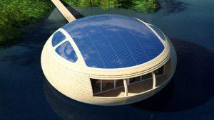 خانه خورشیدی شناور