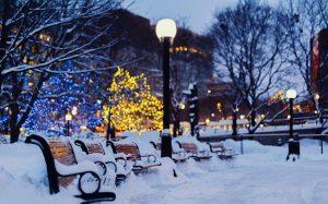 هوای زمستانی کانادا