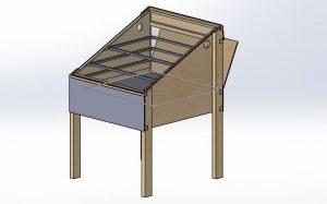 خشک کن خورشیدی جعبه ای