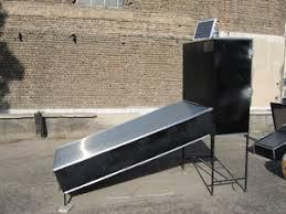 خشک کن خورشیدی کابینتی